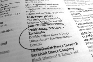 Düsseldorf Huang Yi in program